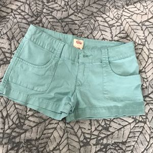 Blue mossimo shorts